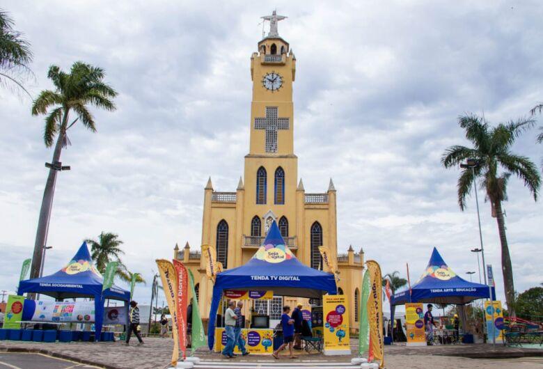 Caravana da TV Digital estará em Ibaté nesta quinta-feira