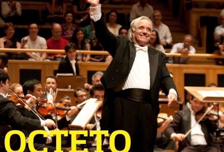 Maestro João Carlos Martins e Octeto Bachiana realizam concerto gratuito em São Carlos neste sábado