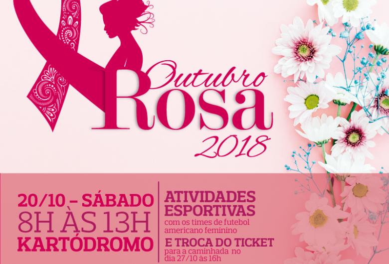 Outubro Rosa: sábado tem atividade no kartódromo