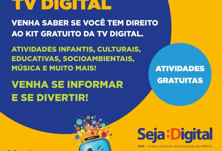 Caravana TV Digital estará em Ibaté