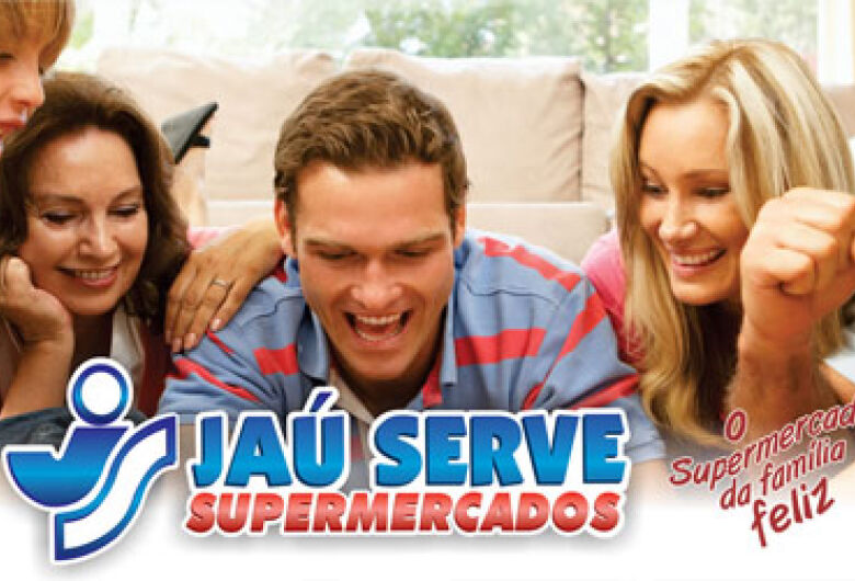 Confira as ofertas do final de semana do supermercado Jaú Serve