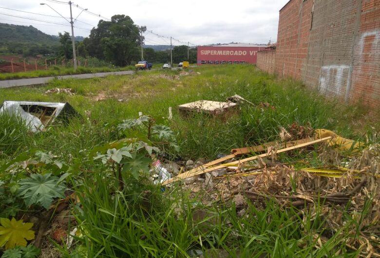 Terrenos abandonados no Zavaglia viram depósito de lixo e criadouro de animais peçonhentos