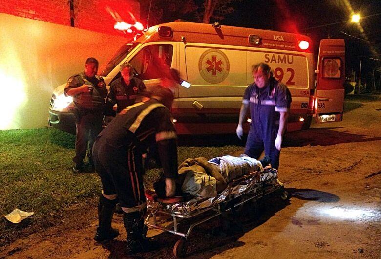 Homem é atingido por tiros de espingarda na represa do 29