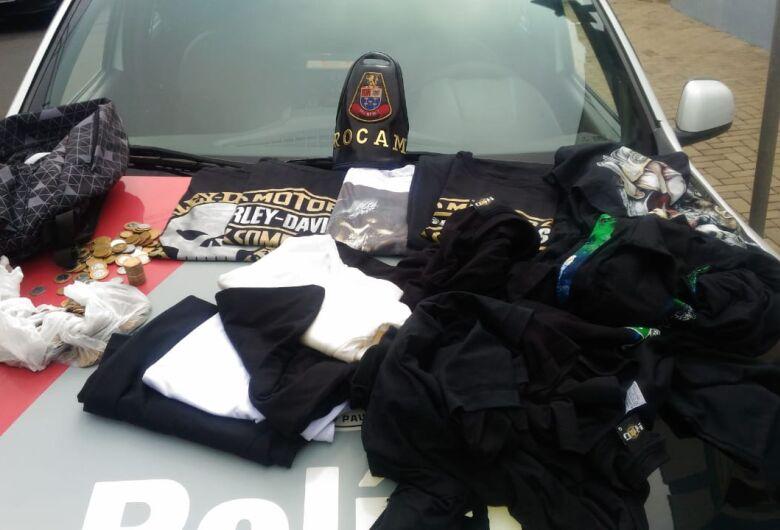 Após furtar loja, ladrão é detido dentro da sua casa