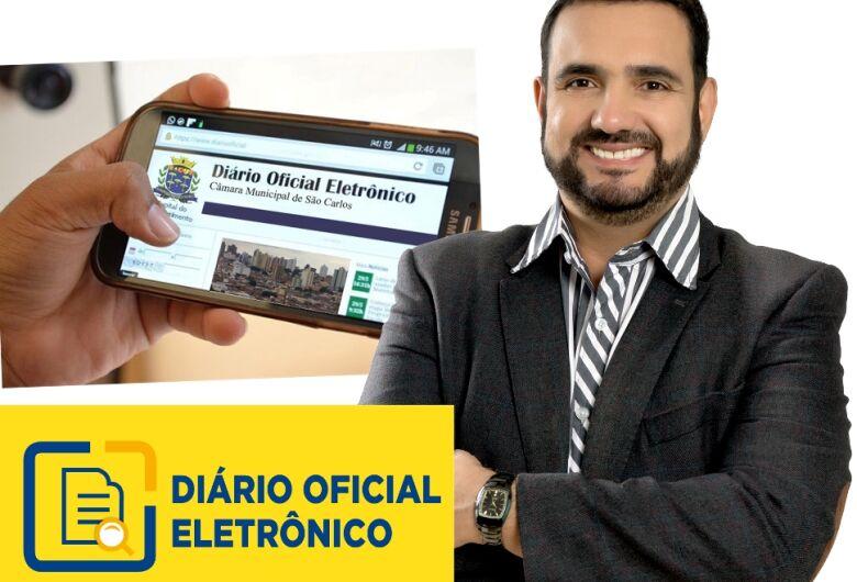 Gestão de Júlio Cesar implanta Diário Oficial Eletrônico