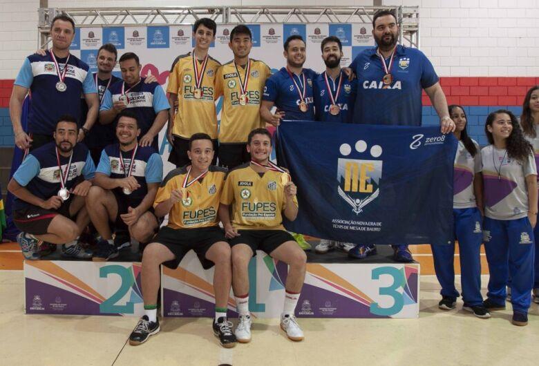 Santos conquista o 1º lugar no masculino por equipe nos Abertos