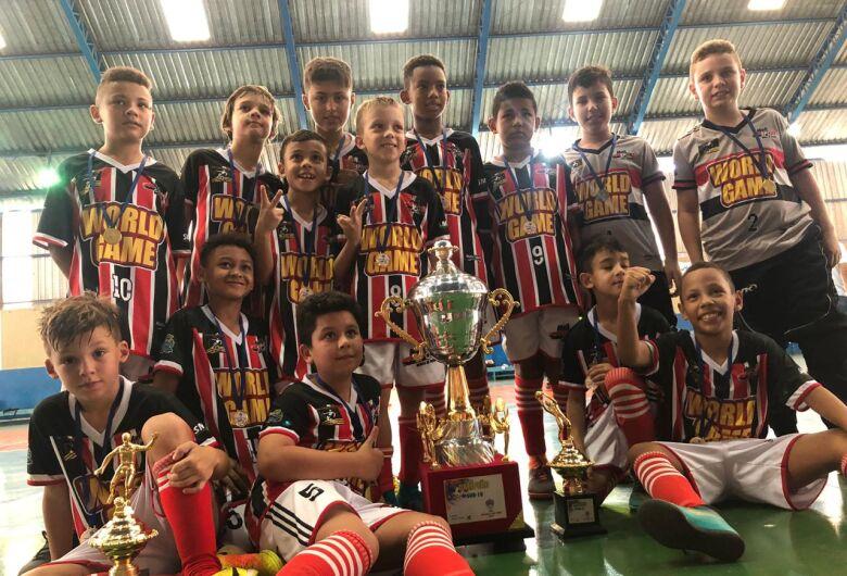 Multi Esporte conquista 2 títulos e 1 vice na Super Copa Paulista Sul