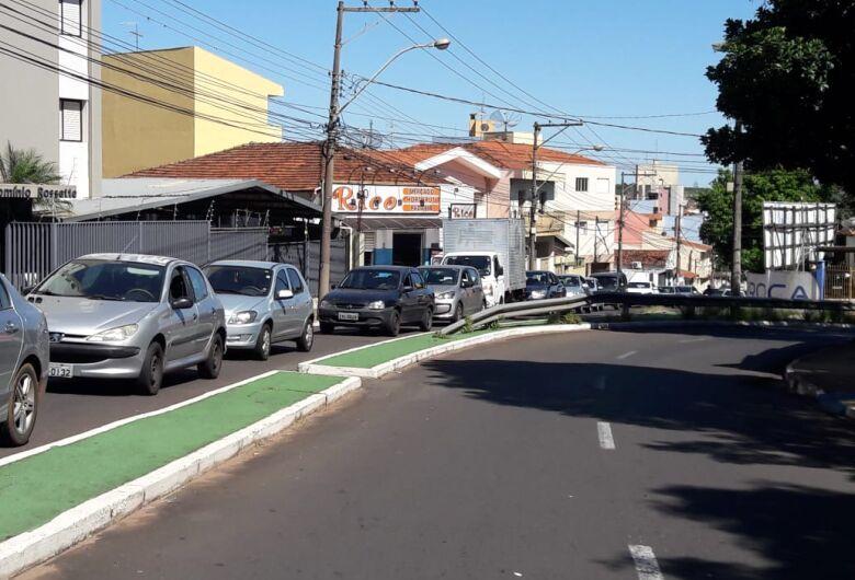 Obras causam congestionamento na região da USP e Santa Casa