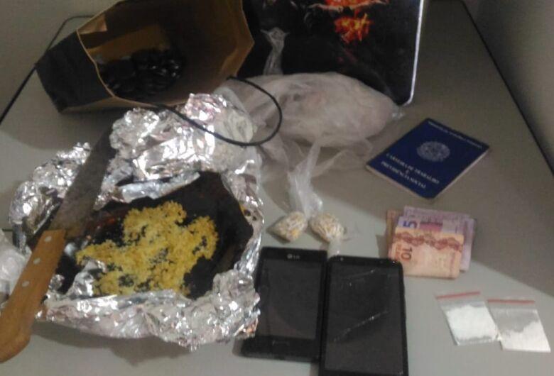 Desocupado é detido com crack em casa na Vila Pureza