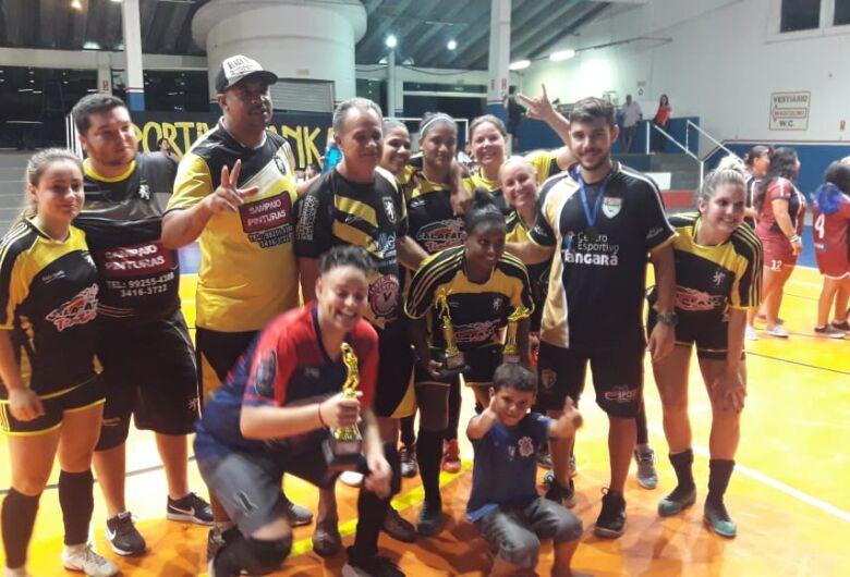 Deportivo Sanca conquista título invicto no futsal feminino