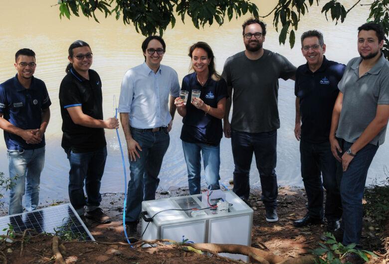 UFSCar cria purificador para acesso a água potável em locais remotos