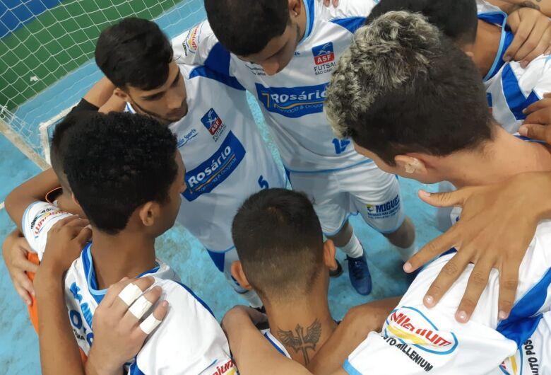 Asf São Carlos termina em 4º no sub19 na Liga Ferreirense