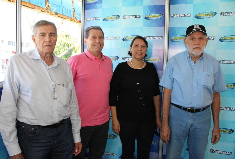 Acisc participa de lançamento de Estúdio de Vidro na Praça do Mercado
