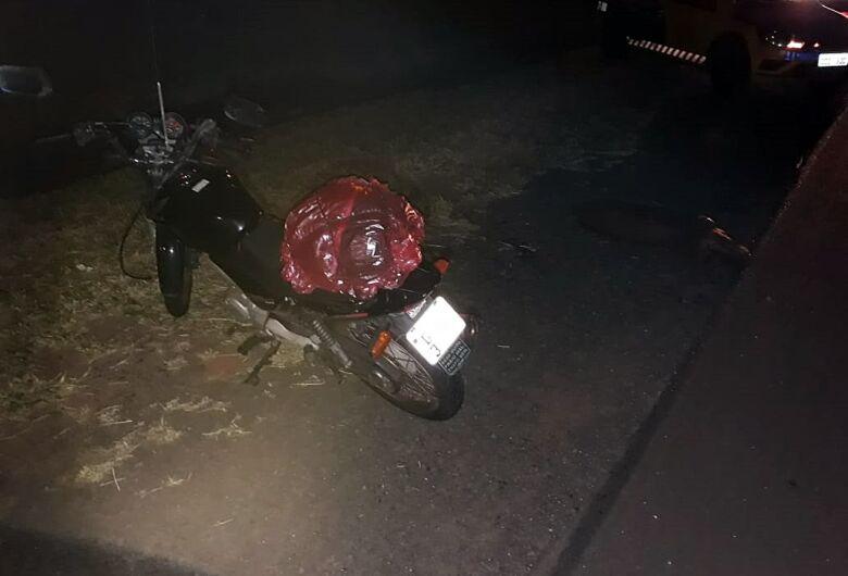 Capivara é atropelada por motociclista na região do Posto Castelo