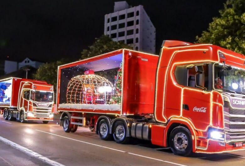 Caravana de Natal da Coca-Cola passa por São Carlos na terça-feira (11)