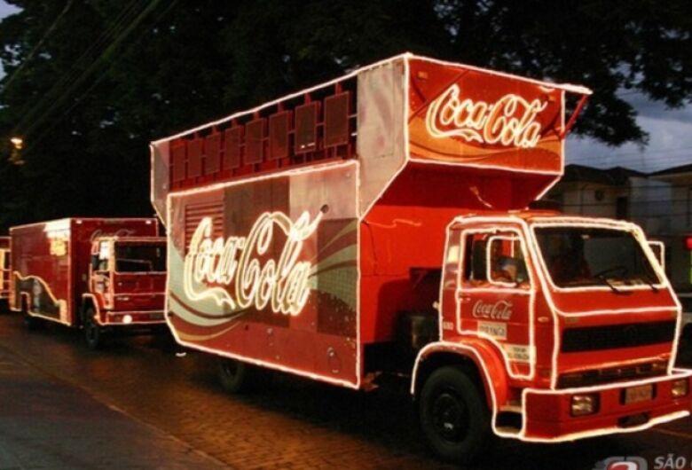 Veja o trajeto da Caravana de Natal Coca-Cola em São Carlos