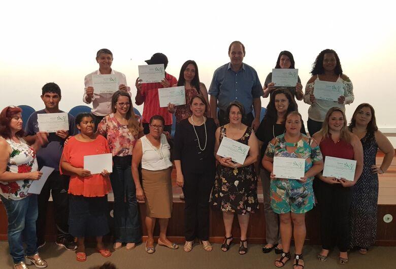 Setenta e dois alunos são certificados pelo Fundo Social