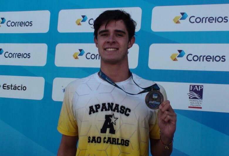 Gabriel Ferretti termina um ano com pódio no Brasileiro de Natação
