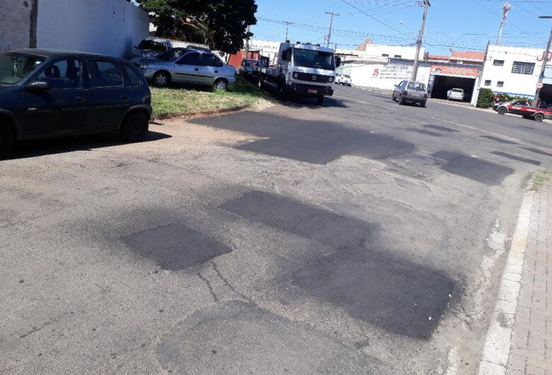Avenida Gregório Aversa recebe melhoramentos, Malabim ainda aguarda recapeamento, rotatória e sinalizações