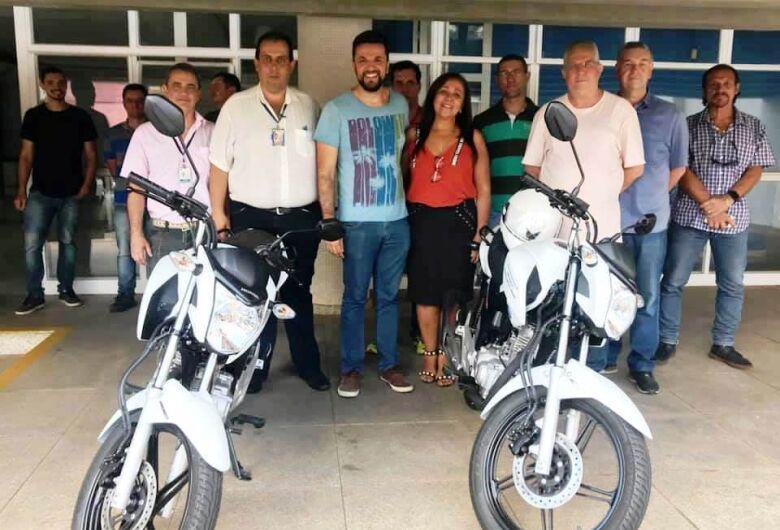 Vereador Rodson conquista motocicleta para o setor de fiscalização da Prefeitura