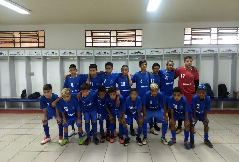 Equipe sub12 de Ibaté é campeão da Copa Regional
