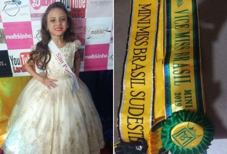 São-carlense conquista segundo lugar no Miss Brasil para crianças e adolescentes