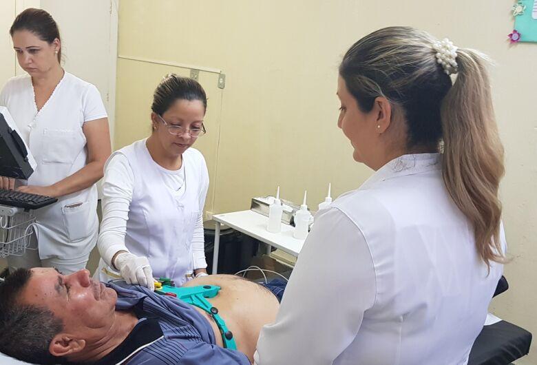 Mais de 50% dos convocados não comparecem em mutirão de eletrocardiograma