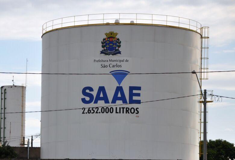 SAAE comunica que poderá faltar água em alguns bairros neste domingo