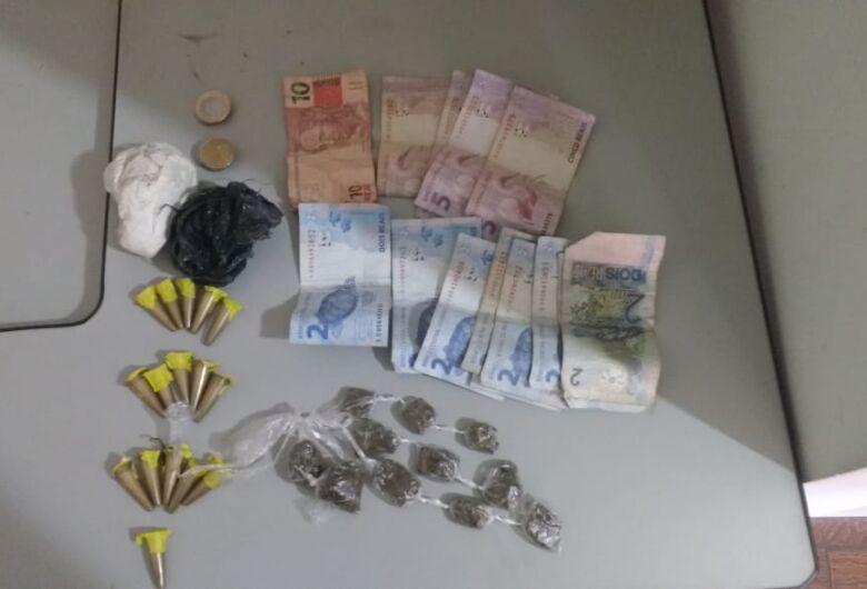 Trio de menores é detido por tráfico no Cidade Aracy