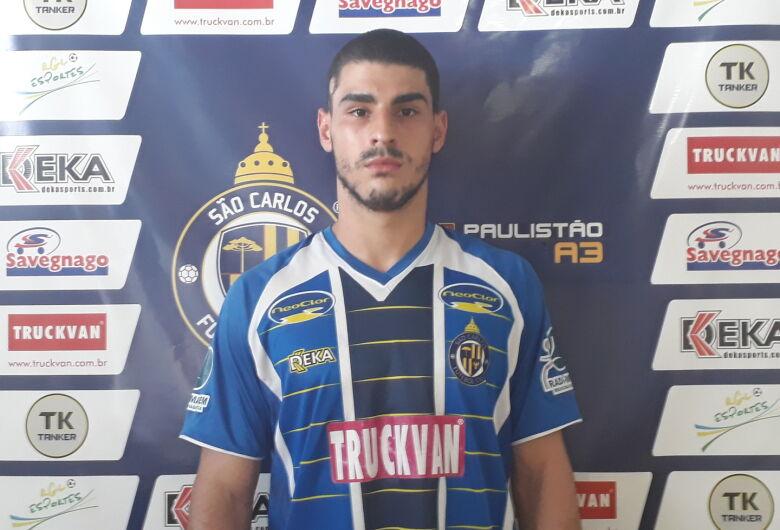 São Carlos apresenta o lateral direito Gabriel Mendes