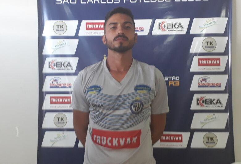 São Carlos contrata o goleiro Airon