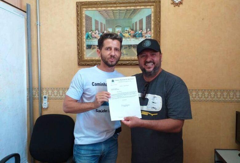 Vereador Elton solicita verba para saúde e assistência social ao deputado federal Guilherme Mussi