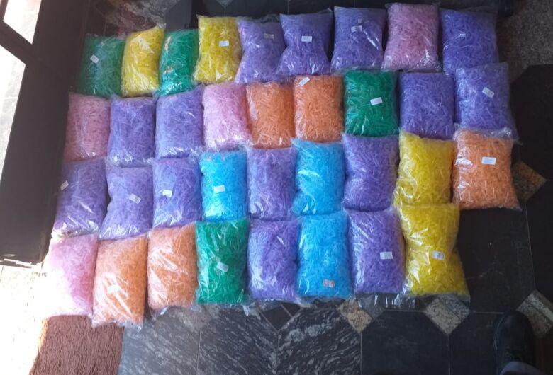 Polícia Militar localiza drogas escondidas em canavial
