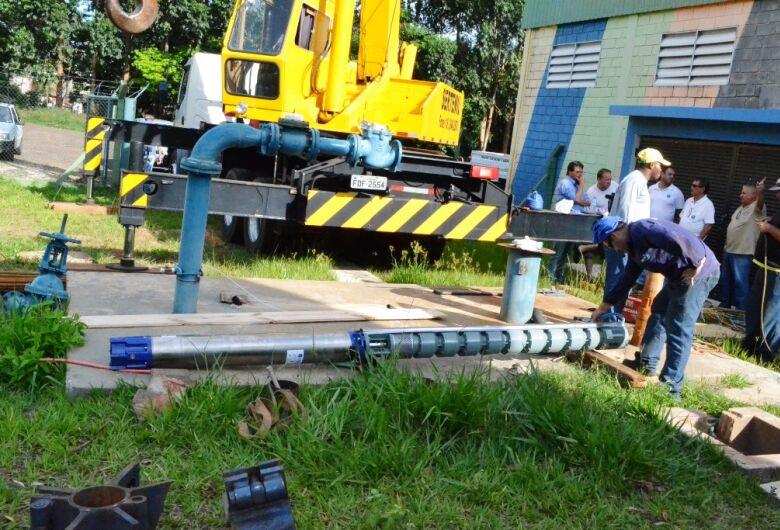 Zé Parella adquire novas bombas e soluciona falta de água em Ibaté