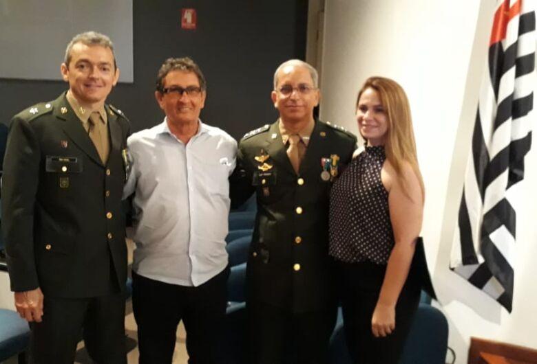 Vice-prefeito participa da posse do novo delegado da 5ª Delegacia de Serviço Militar
