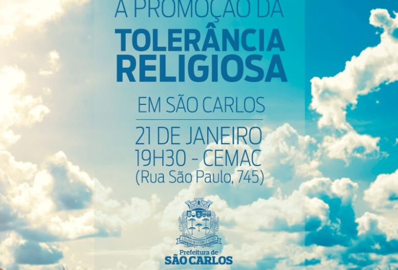 Cemac promove roda de conversa sobre tolerância religiosa