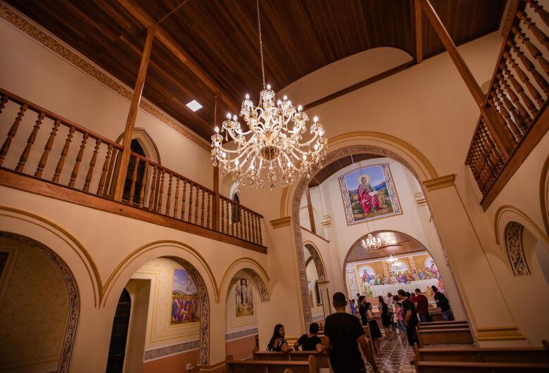 Ibaté: Igreja Matriz Centenária será reaberta após restauração e reforma