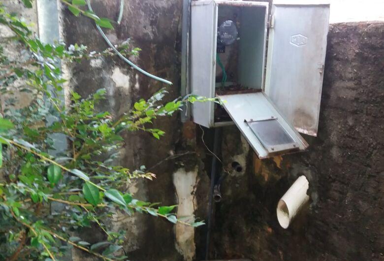 Aumentam furtos de fiação elétrica, hidrômetros e torneiras no Lagoa Serena, afirmam moradores