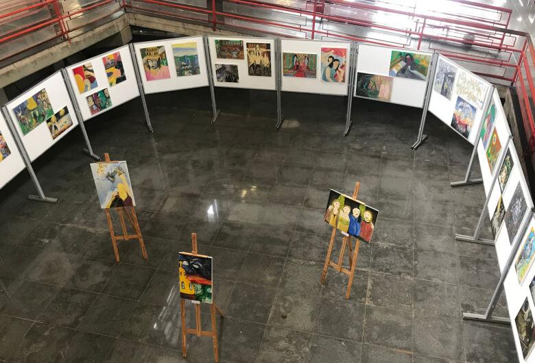 Biblioteca Comunitária da UFSCar apresenta exposições de pinturas e desenhos