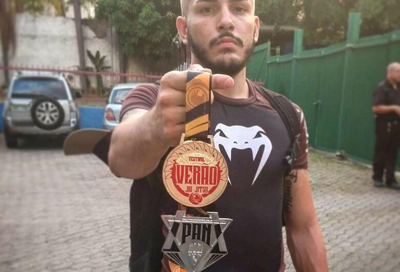 São-carlense brilha e conquista duas medalhas em São Paulo