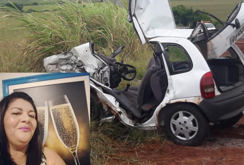 Acidente envolvendo carro de São Carlos deixa mulher morta na Jaú-Bocaina