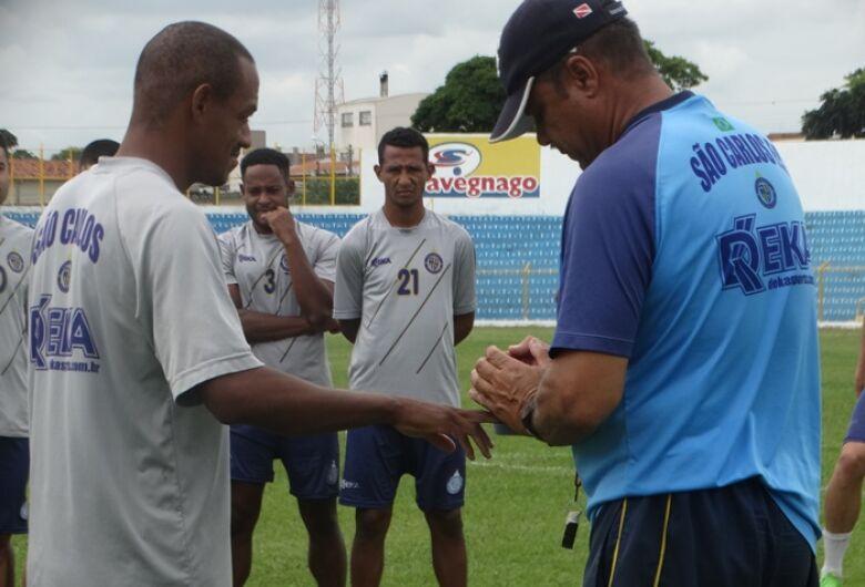 Para Ortiz, cada jogo será um degrau na evolução física dos atletas da Águia