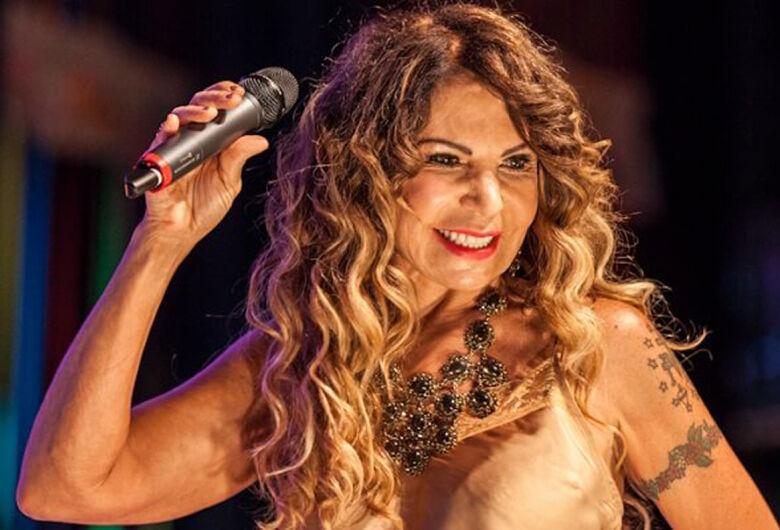 Elba Ramalho faz show hoje em São Carlos
