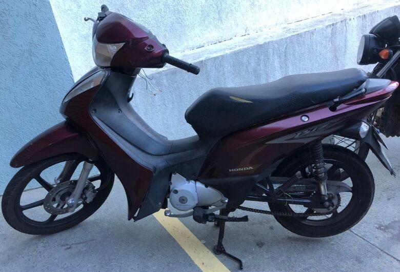 Moto furtada é localizada no Cidade Aracy