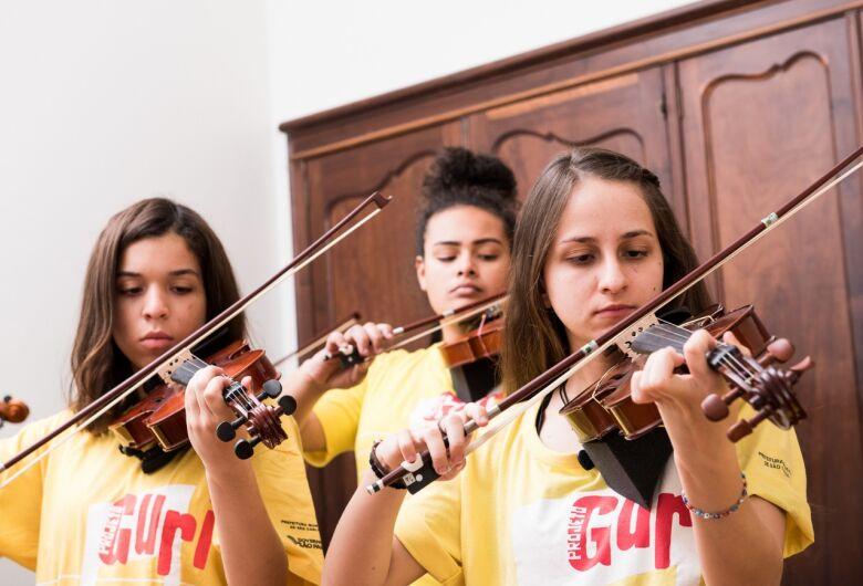 Projeto Guri oferece mais de 500 vagas para cursos de música gratuitos na região de São Carlos