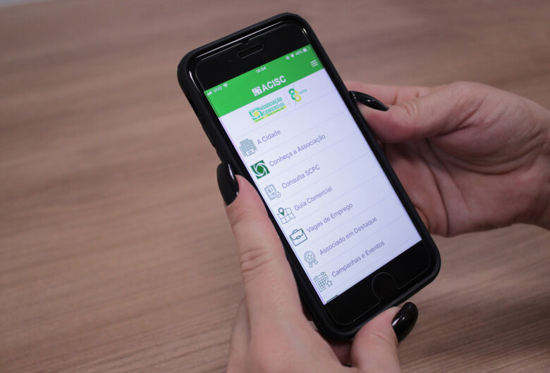Acisc lança aplicativo para o comércio em comemoração aos 88 anos