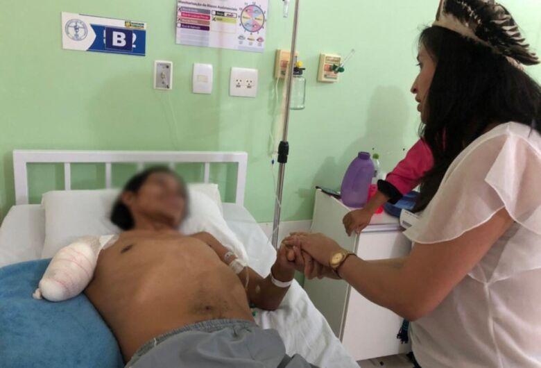 """""""Eles davam risada e me espancavam"""", afirmou indígena vítima de agressão em São Carlos"""