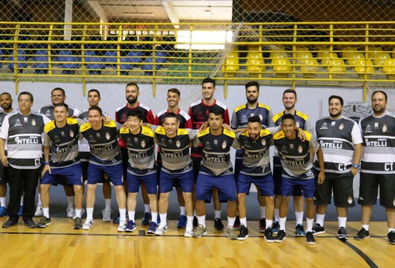Time que irá disputar Liga Nacional, Liga Paulista e Copa Paulista é apresentado no Olaio
