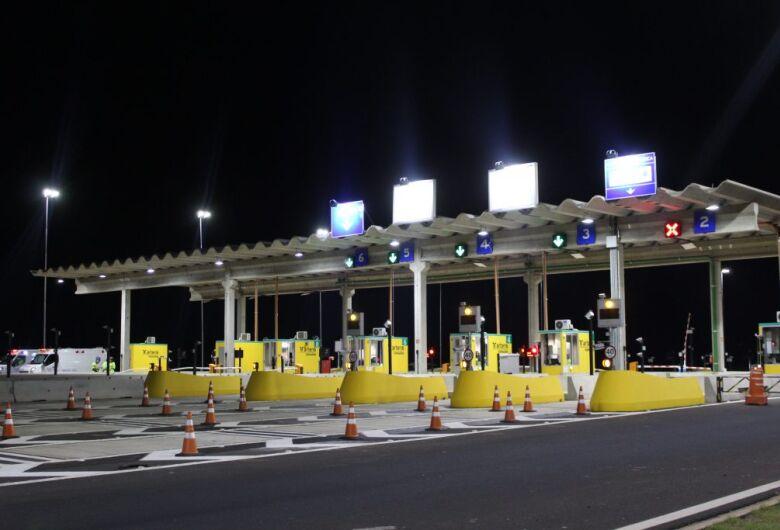 Motoristas acima de 40 km/h em praça de pedágio serão multados