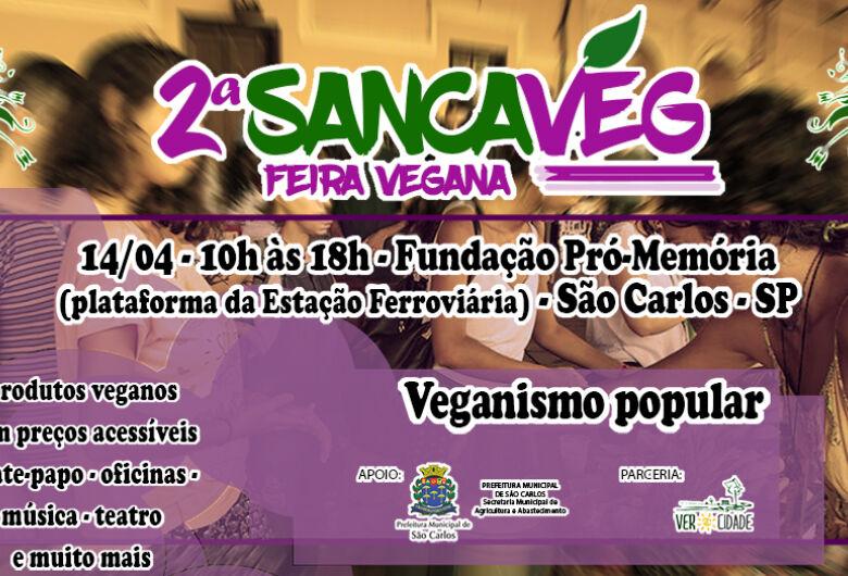 Aberta inscrições de expositoras para a 2ª SancaVeg - Feira Vegana de São Carlos